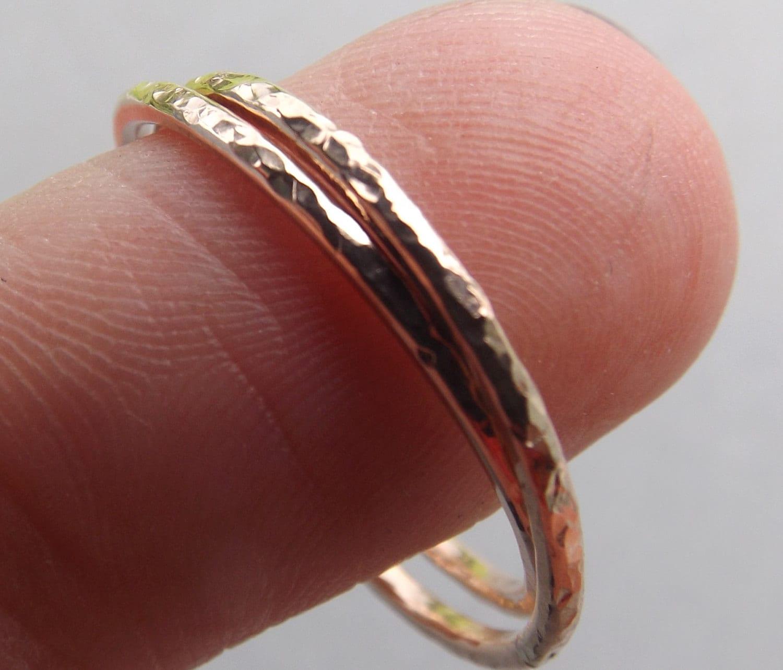 3a9b4dca37034 Gold Interlocking Thumb Rings,Thumb Rings,Gold Thumb Ring,Textured  Rings,Rolling Ring,Stacking Rings, Minimalist Rings,Unique Ring,Rose Gold