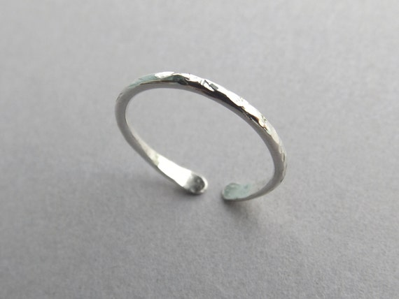 Knuckle Ring, Knuckle Rings, Stacking Mid Rings, above knuckle ring, Toe Rings, Rings, Sterling Silver Knuckle Ring