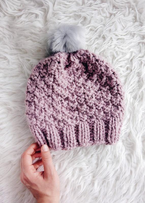 Hat Knitting Pattern   Beanie Knitting Pattern   Toddler Hat  a3cdf2fdfa