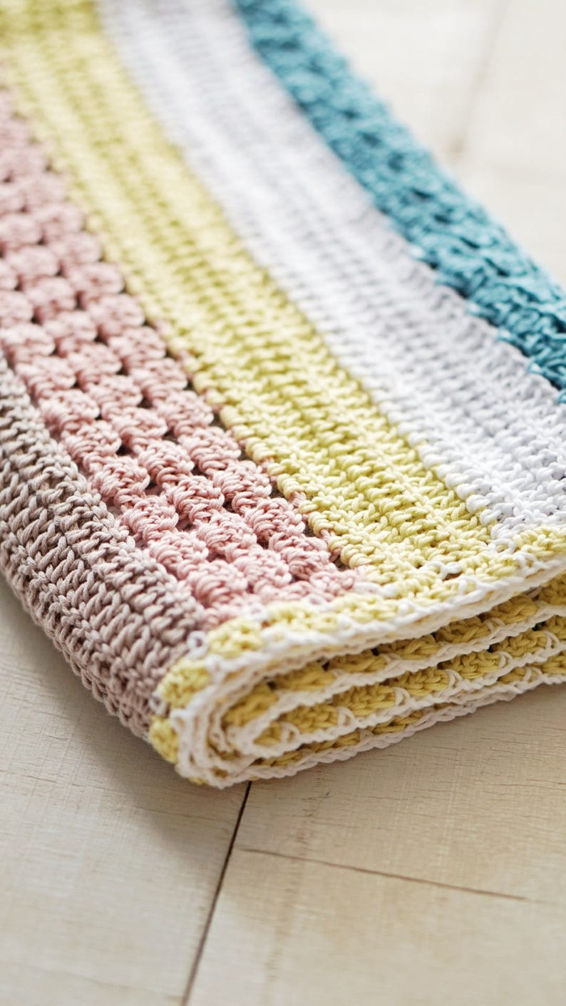 Crochet PATTERN Stroller Baby Blanket/ crochet baby ...