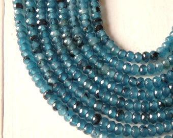 12mm HEATHER GREY JADE Beads 32 beads gjd0155 Faceted Round Gemstone Beads