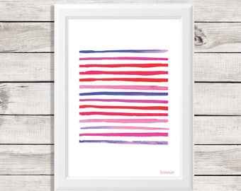 abstract print - abstract wall art- watercolor abstract wall art - watercolor painting - modern watercolor - abstract watercolor