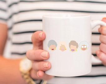 golden girls mug - golden girls show - golden girls coffee mug - dorothy in the streets - golden girls tv