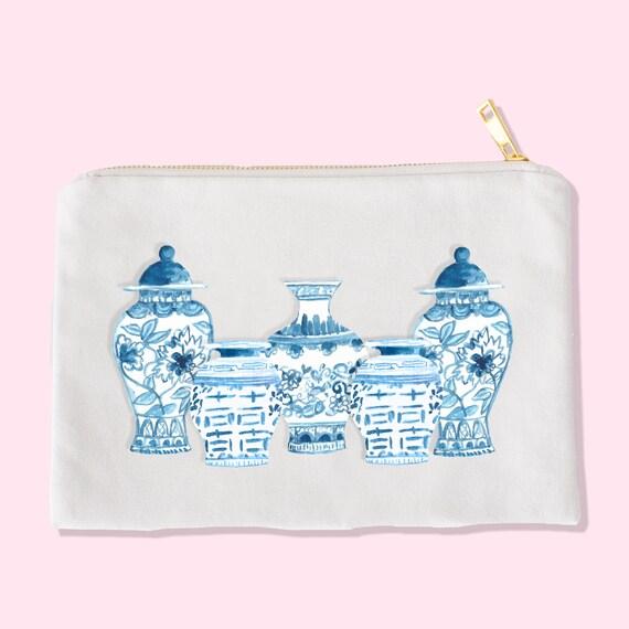 chinoiserie makeup bag makeup bag cosmetic bag unique chinoiserie makeup bag - makeup bag - cosmetic bag - unique makeup bag - chinoiserie bag - chinoiserie artwork - chinoiserie vase - 웹