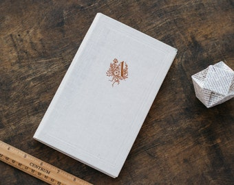 """Upcycled Diary Tartuensis Classic """"Typography"""" from old book covers"""