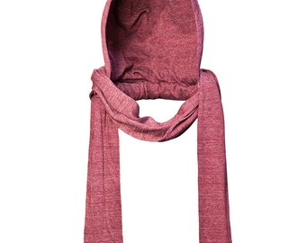 Cranberry Fall/Winter Attachable Hooded Scarf