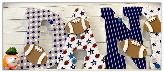 Football Nursery. Dallas Cowboys Inspired. Sports Nursery