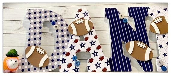 Football Nursery. Dallas Cowboys Inspired. Sports Nursery