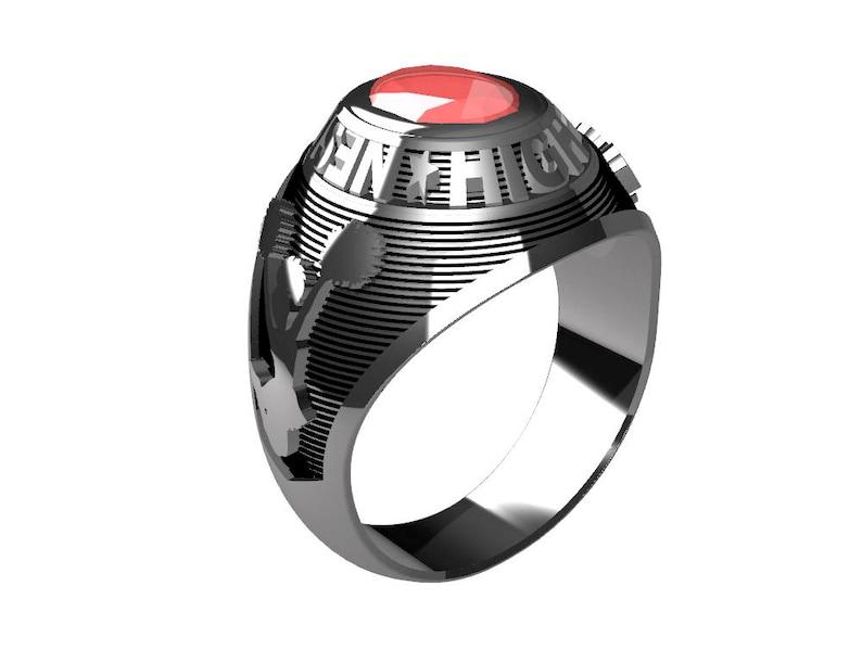 Sterling Silver Ladies School Ring
