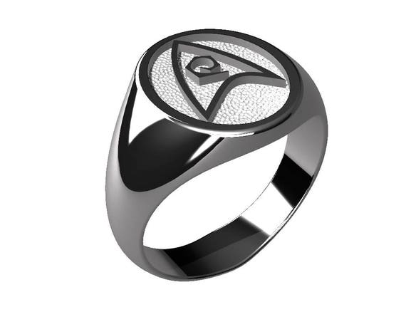 Star Trek Engineering Ring Etsy