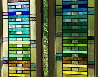 Rainbow Window x 2