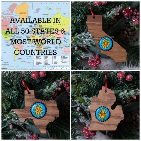 image 0 - Beer Cap Ornament Beer Cap Christmas Ornaments Gifts For Beer Etsy