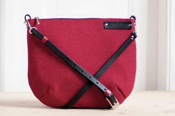 7e95d434b7 canvas handbag red messenger bag small crossbody bag red