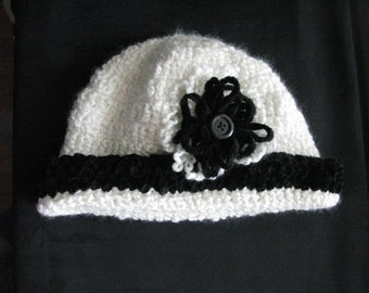 4fd044c5f30 Crochet hat women white winter ladies hats handmade knit