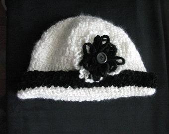 992ee883 Crochet hat women white winter ladies hats handmade knit