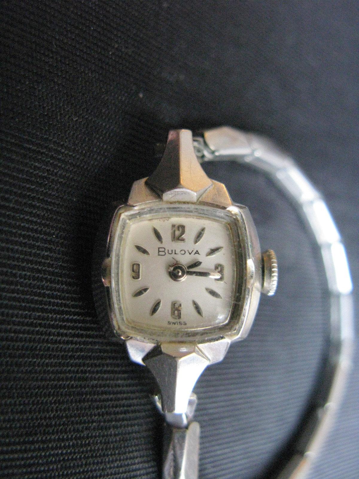 Ladies Watches Bulova Watch 10K Vintage M | Etsy