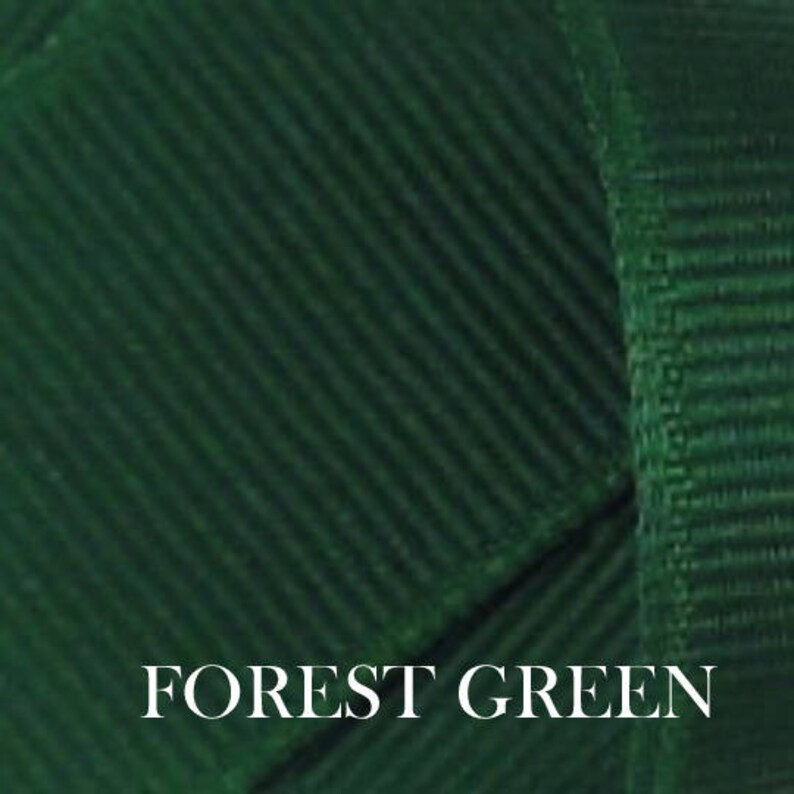 Uniform Hair Bow....Navy and Green Hair Bow