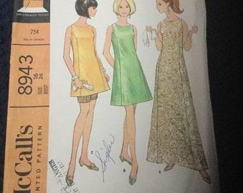 McCalls 8943 dress pattern