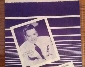 """Vintage """"Sentimental Journey"""" sheet music"""