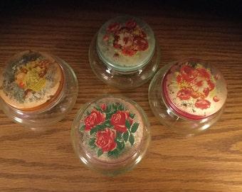 Vintage Goodman Bros. Jelly Jars