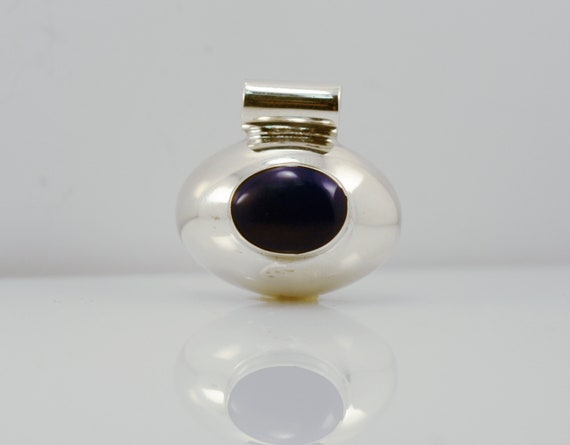 Silver Lapis Lazuli Chandelier Clip On Earrings Antique Vintage Style Heart