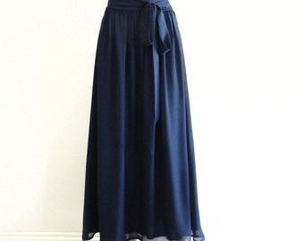 Royal Blue Full Circle Skirt-Maxi Skirts-Royal Blue Color Long Skirt Bridesmaid Skirt-Maxi Skirt-Summer wear skirt Plus size @sohoskirts