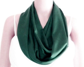Celtic cross circle loop infinity scarf chiffon fashion retro print navy beige