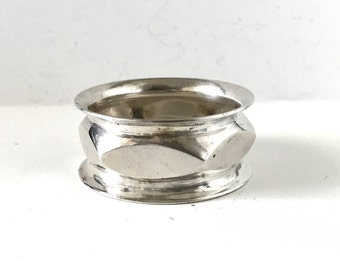 dc7503062a Antique Vintage French Silverplate Napkin Ring Holder