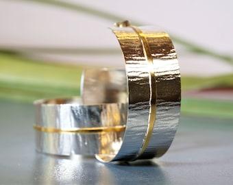 wide hammered hoops, chunky hoops, oxidised silver, big hoops, gypsy hoops, gold plated hoops, boho style, lightweight hoops