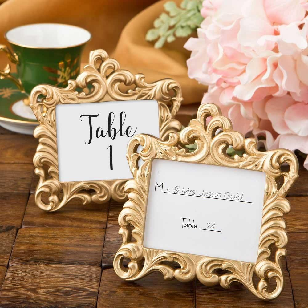 Tischkarte Rahmen Platz Karte Halter Vintage Hochzeit Bild   Etsy
