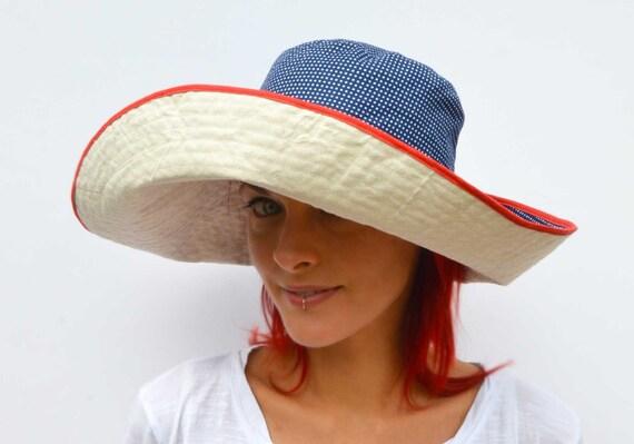 Breiter Krempe Sonnenhut sommerhut Wendemütze faltbare Hut | Etsy