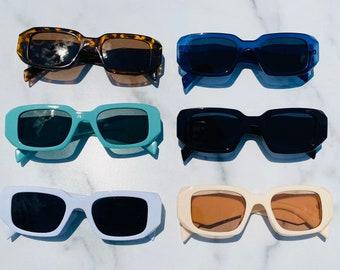 Retro Rectangle Vintage Sunglasses   Rectangle Vintage Sunglasses   Retro Sunglasses   Aimi