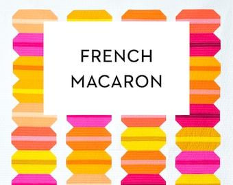 French Macaron Quilt Pattern