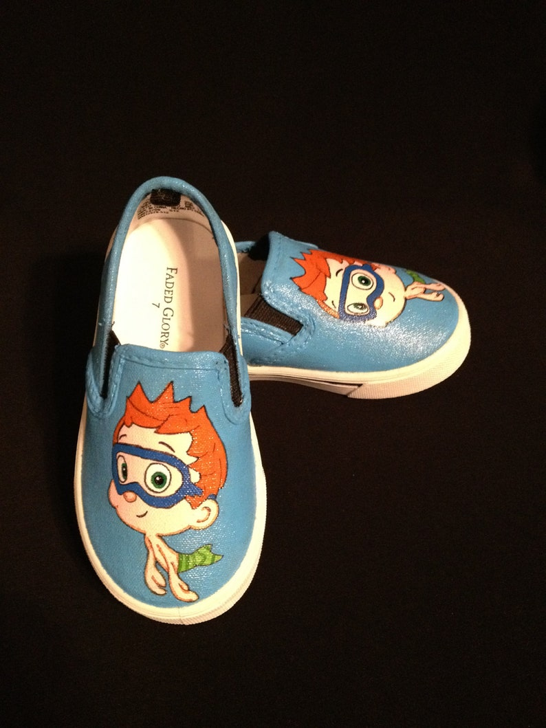 d98d9fad66017 Custom Designed Hand Painted Shoes Kid Sizes