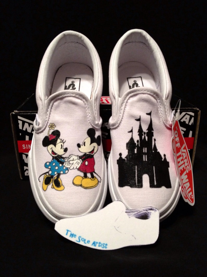 c8dbf07ff5846 Custom Designed Hand Painted Vans Kids Size