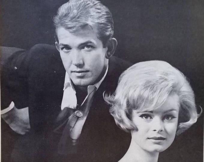 George Masters Hair Stylist Celebrity 'Natural Look' Marilyn Monroe Ann Margaret Movie Star Favorite L.A. Stylist  13 x 10 Ready Frame