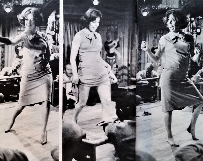 Carol Burnett 'Who's Been Sleeping My Bed' Movie Pics 1963  Classic Icon Woman Comedian  Funny Dean Martin 3 pps 13 x 10. Ready for Framing.