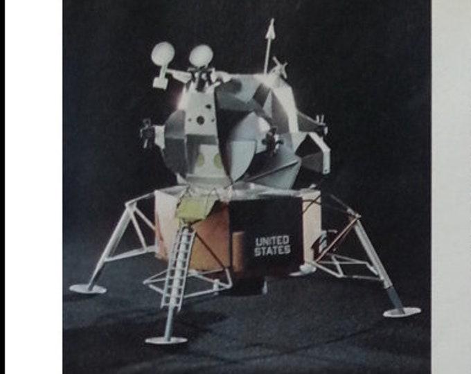 Apollo 9 Scetch and Illustrations Photo 1969 Earth Orbit McDivitt Scott & Schweickart History Scale Model NASA 13 x 10 Ready for Framing.