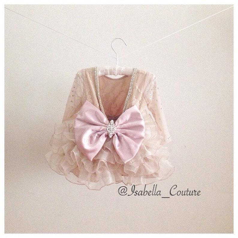 cff3f8808f4 DIOR DRESS Flower Girl Dress Lace Dress Girls Lace Dress