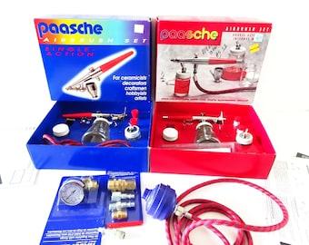 Vintage Airbrush Paasche H Paasche VL Airbrush Set