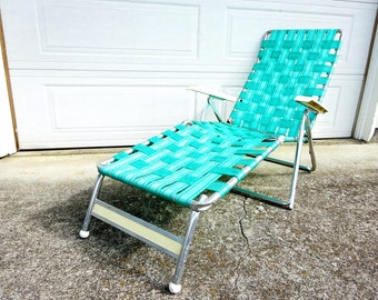 Vintage Hampden Kotch Patio Beach Pool Louge Chair Chaise