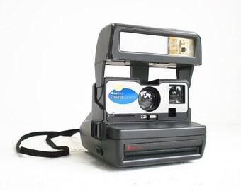 Vintage Polaroid 600 One Step Talking Camera