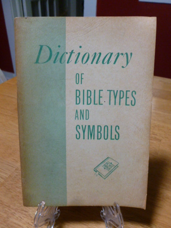 Items Similar To Dictionary Of Bible Types And Symbols By Carl C