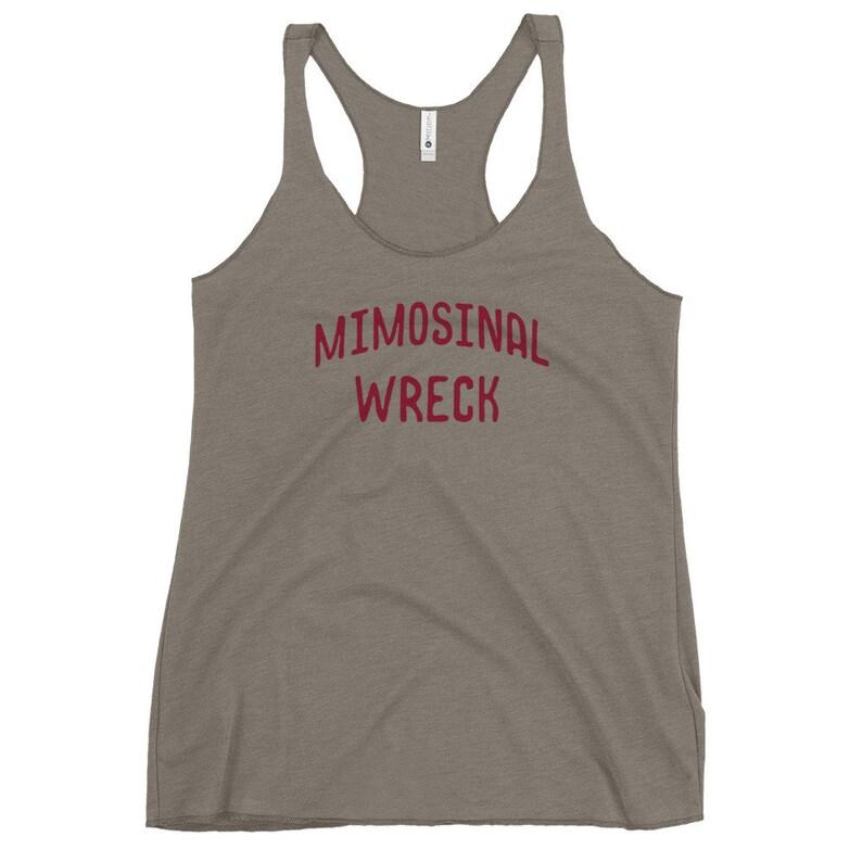 Mimosinal Wreck Women/'s Racerback Tank