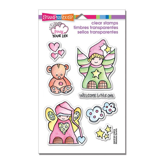 Little Angels Stampendous Stamps Angel Stamp Baby