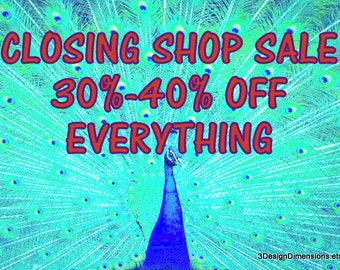 Closing Shop Sale