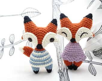 Crochet amigurumi foxy fox PDF pattern