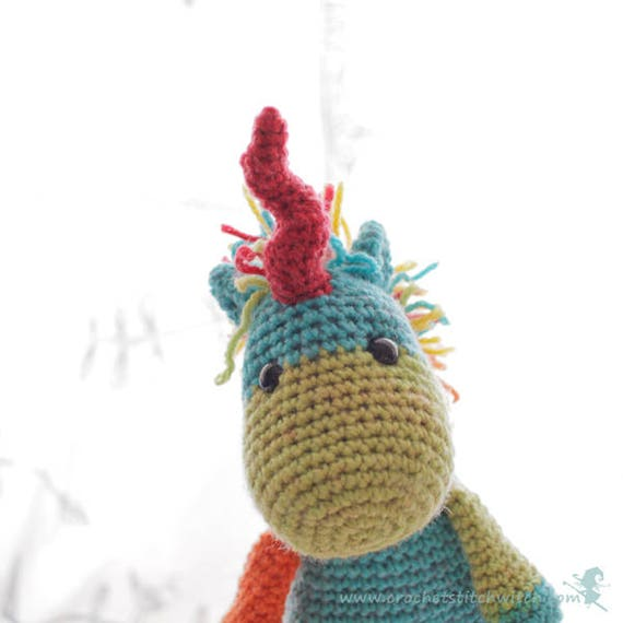Unicorn crochet pattern Amigurumi Unicorn toy plushie | Etsy