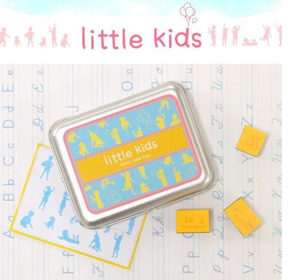 A Set of DIY Rubber Stamp -Little Kids