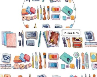 1 Roll of Limited Edition Washi Tape: Stationery